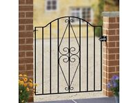 Wrought Iron Style Garden Gate NEW not used
