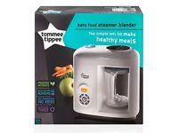 BRAND NEW Tommee Tippee Baby Food Steamer Blender RRP £120