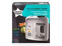 BNIB Tommee Tippee Baby Food Steamer Blender RRP £120