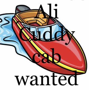 Wanted: Cuddy Cabin 5 to 6 m Aluminium Boat wanted to buy as new