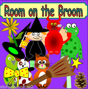 ROOM ON THE BROOM story teaching resources sack eyfs ks1 childminder resource cd