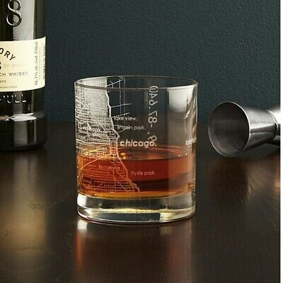 Personalized Rocks Glasses (WHISKEY SCOTCH BOURBON ROCKS GLASS, ETCHED PERSONALIZED CITY)