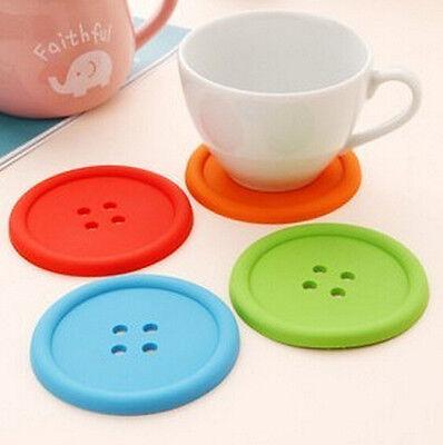 silicone cup Mug Glass Beverage Holder Mat ...