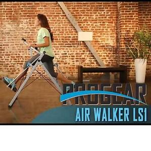 "NEW* PROGEAR 48"" STRIDE AIR WALKER FREEDOM ELLIPTICAL PULSE SENSORS - EXERCISE EQUIPMENT WORKOUT GYM CARDIO FITNESS"