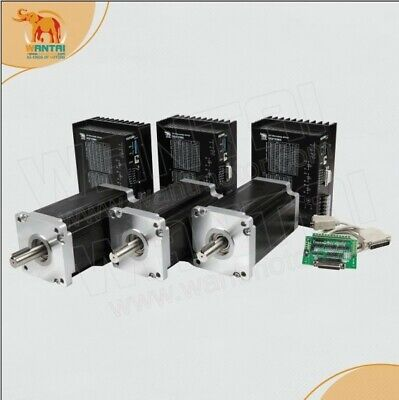 3axis Nema 42 Stepper Motor 3256oz 150mm 6.8adriver 110-220vac 9.8a Engrave