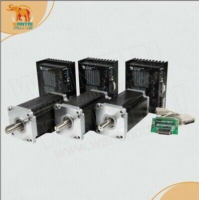 Wantai 3axis Cnc Nema42 Stepper Motor 4200ozdriver Dq2722ma 220v Ac Input Cnc