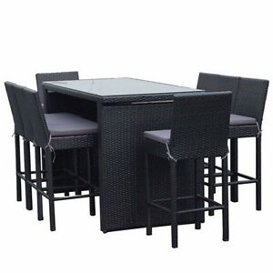 Vegas Outdoor Bar Furniture Table  Stools Chairs Setting Dining Bundall Gold Coast City Preview