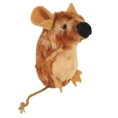 Trixie Spielmaus mit Sound für Katzen Plüsch, 8 cm