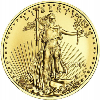 ON SALE! 1/2 oz American Gold Eagle Coin (Varied Year, BU)