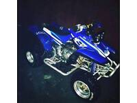 Yamaha warrior quad bike