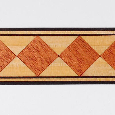One inch - Harlequin - Buffard Frères Marquetry Banding Strips (Inlay-95) for sale  Shipping to Canada