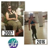 Train with someone who's lost 100lbs herself!
