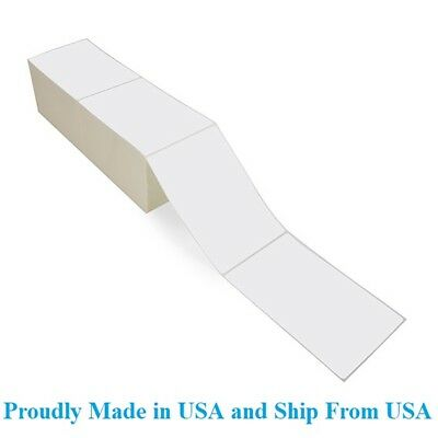 8000 Fanfold 4 X 6 Direct Thermal Labels. Shipping Barcode Labels Zebra Ups