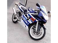 2003 Suzuki GSXR 600 k3. Only 7500miles