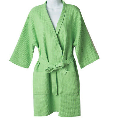 Lime Green Waffle Robe Bridesmaid Robes Wedding PLUS SIZE Women USA](Lime Green Wedding)