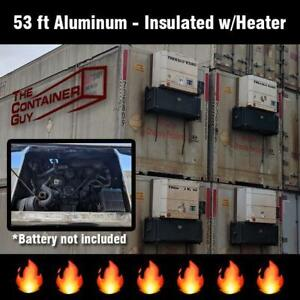 53 ft Insulated Aluminum Containers with or without Diesel Heaters Saskatoon Saskatchewan Preview