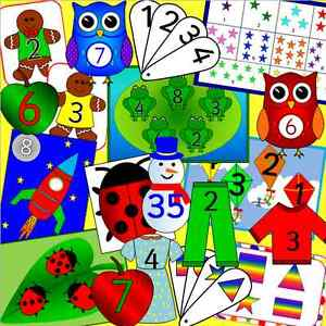 Bumper MATHS resource CD for the Early Years -  EYFS, SEN, Reception, numeracy