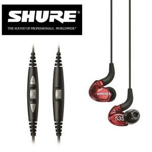 NEW SHURE LIMITED EDITION HEADPHONE SE535LTD 141982764 EARPHONES IN-EAR SOUND ISOLATING RED