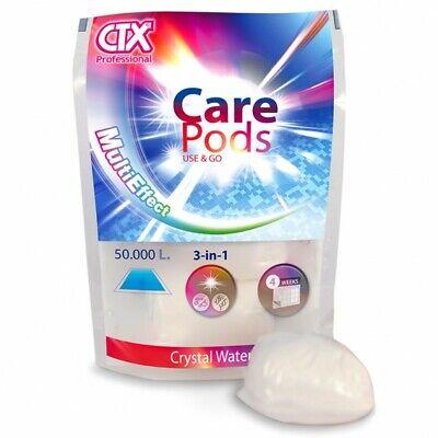 CTX Care Pods tratamiento clarificante para piscina multifuncion 3 en 1 Certikin