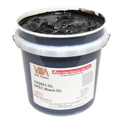 Spec Black- Plastisol Ink Gallon
