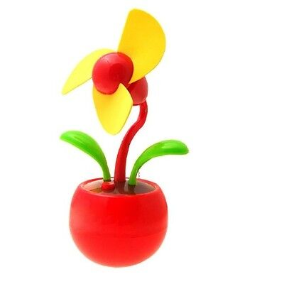 Add some fun to your desk with a flowering fan
