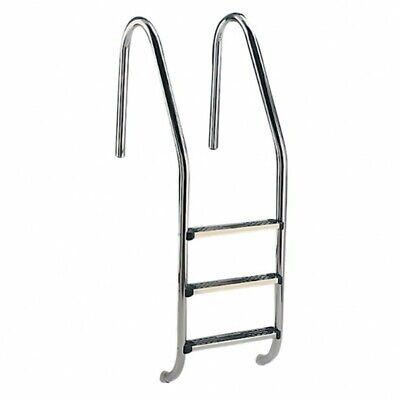 Escalera Inox. Standard 3 peldaños para piscina