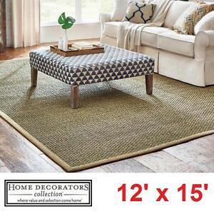 NEW* HDC 12'x15' SEASCAPE AREA RUG - 125723293 - HOME DECORATORS COLLECTION FLOORING RUGS DECOR CARPET CARPETS SEASCA...