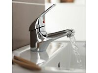 Mono Basin Mixer tap with clip waste