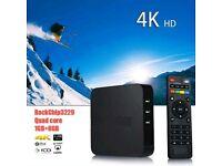 Kodi android tv 4k box boxed £80 no offers