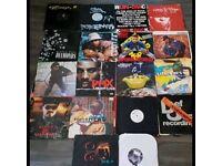 Hip hop vinyl lot