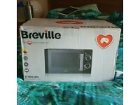 NEW BREVILLE MICROWAVE!