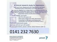 Volunteers wanted for research study into depression