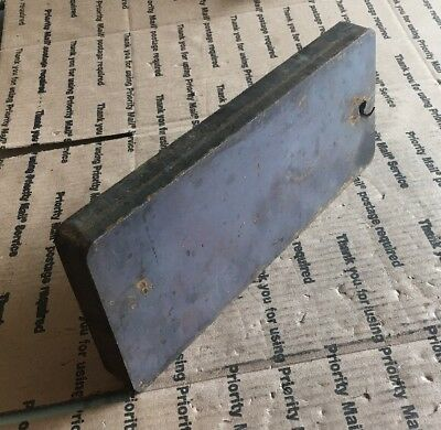 Steel Plate 4 34 X 11 14 X 1 Thick Plate Blacksmith Shooting Target Plate.