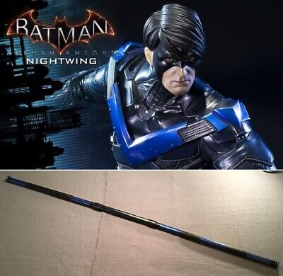 Nightwing / Deathstroke collapsible Bo staff leather grip costume cosplay Batman - Nightwing Costume