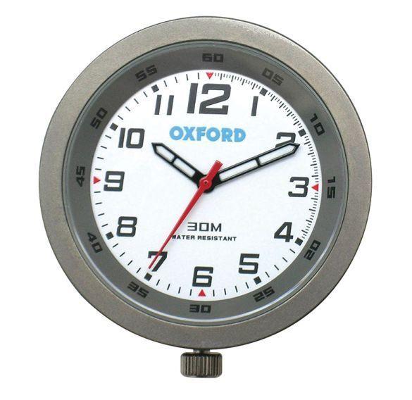 Lenker-Uhr analog für Motorrad Roller Enduro wasserdicht miniatur