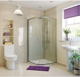 Kiimat Signature 6mm Quadrant Shower Door (800mm) - 9300