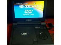 Curtis portable DVD player