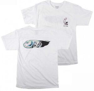 WELCOME-Chris-Miller-Pro-Skate-Camiseta-Gato-Durmiendo-Logo