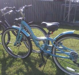 Girls Jamis 7speed bikes
