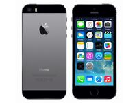 Space grey iphone 5s on EE