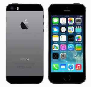 Apple IPhone 5S Unlocked Scratch-less for Sale Silver Grey Color