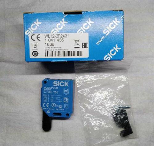 1Pcs NEW SICK Photoelectric Switch Sensor WL12-3P2431 1041436