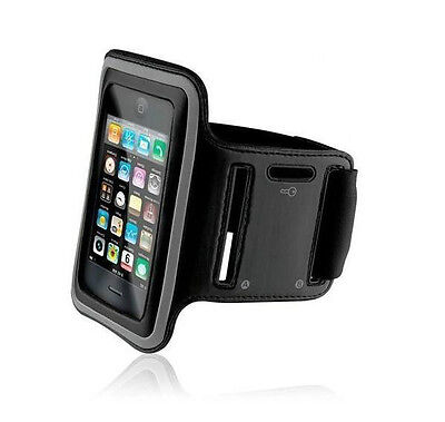 NEW Premium Black Running Sports Gym Armband Case Cover For Apple iPhone 5 5TH