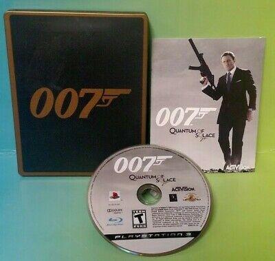 James Bond 007 Quantum of Solace Collector's Edition PlayStation 3 Steelbook PS3 comprar usado  Enviando para Brazil