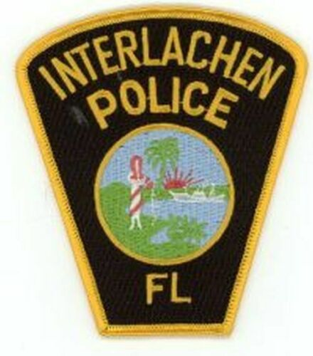 INTERLACHEN POLICE FLORIDA FL POLICE NICE NEW COLORFUL PATCH SHERIFF