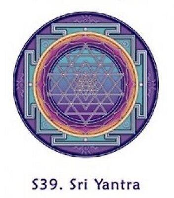FENG SHUI Fensterbild Sri Yantra