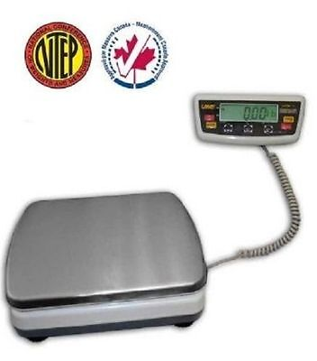 Bench Digital Scale Ntep Legal For Trade 300 Lb Shipping Portable Rechargeable