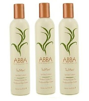 Abba TruMint Light Daily Conditioner 12 oz Pack of 3