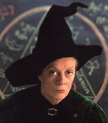 Harry Potter Professor McGonagall Deluxe Wizard Hat with - Harry Potter Professor Mcgonagall Hat