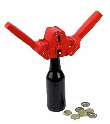 $17.99 - Bottle Capper Set with 55 Caps for Beer and Homebrew